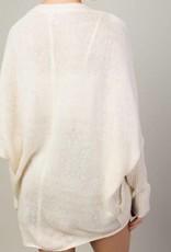 LLOVE Sleigh Bells Ring Sweater Cardigan