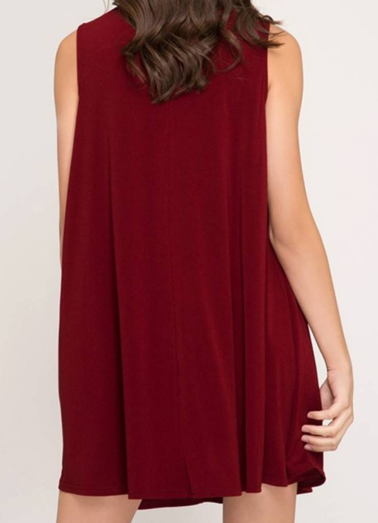 She & Sky Warm Hearth Dress