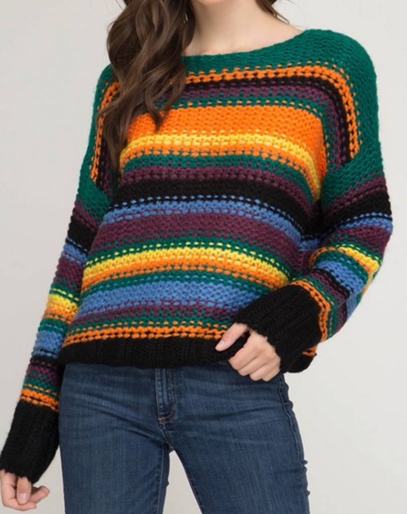She & Sky Festive Nights Sweater