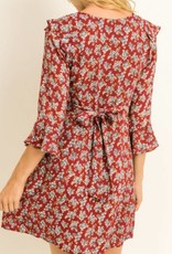 Le Lis Winter Blooms Dress