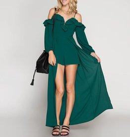 She & Sky Winter Evening Romper