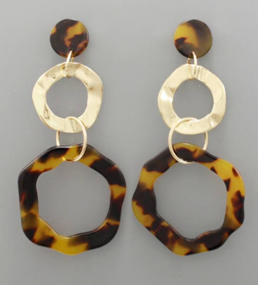 Golden Stella The Bombshell Earrings