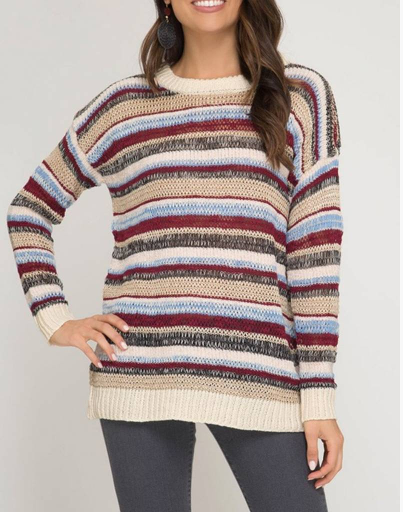 She & Sky Drink of Choice Sweater