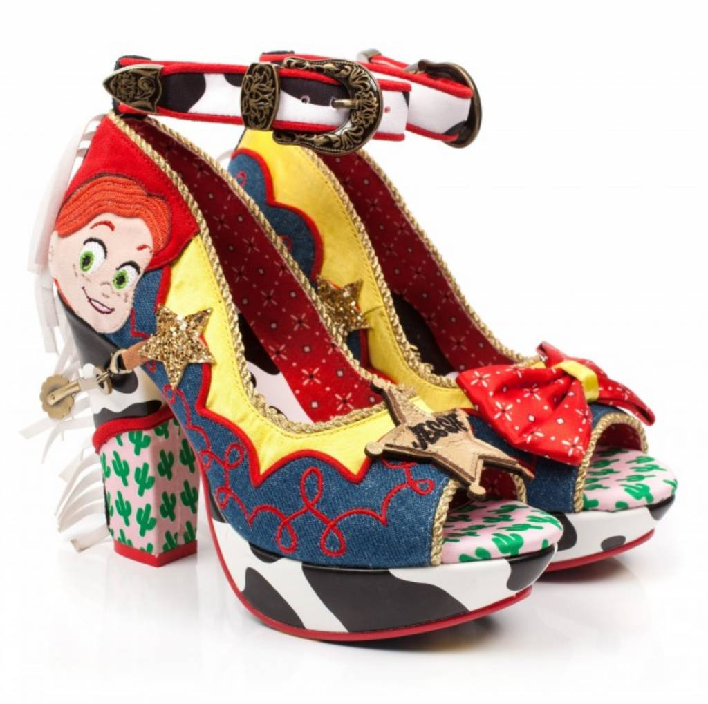 Irregular Choice Rootinest Tootinest Cowgirl Heels
