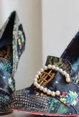 Irregular Choice Velvet Pearl Heels