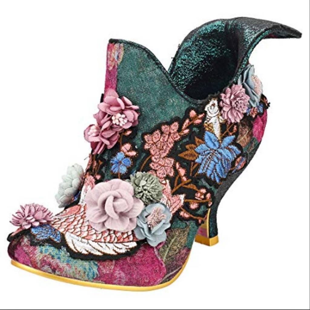 Irregular Choice Bloomchester Koi Heels