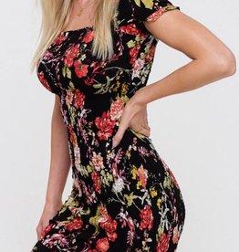 Listicle Flower Power Dress