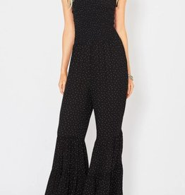 Entro Polka Flare Jumpsuit