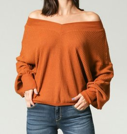 Illa Illa Copper Queen Top