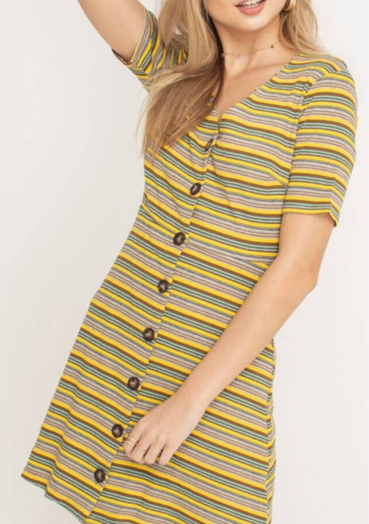 Lush Lemondrop Dress