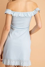 Le Lis Eyelet up the Room Dress