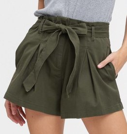 Listicle Olive You Shorts