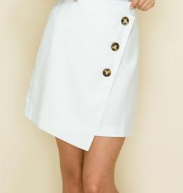 Glam Sidepiece Mini Skirt