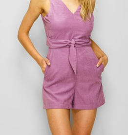Glam Knot Into You Romper