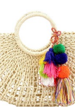 Lovely Purses 4 U Basket Case Cabana Bag