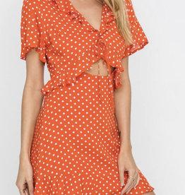 Lush Hottie Dotty Dress