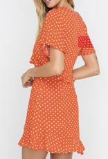 Lush Hottie Dotty Dress