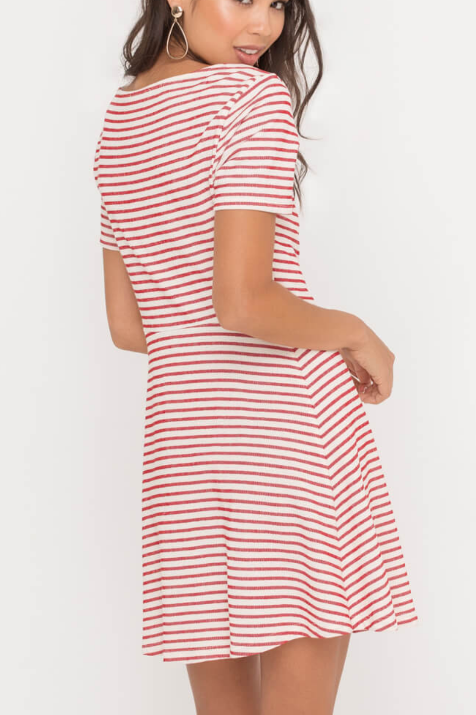 Lush Stripe of Life Dress