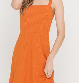 Lush Orange You Glad Dress