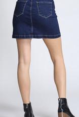 Vibrant Short Skirt, Long Jacket Skirt