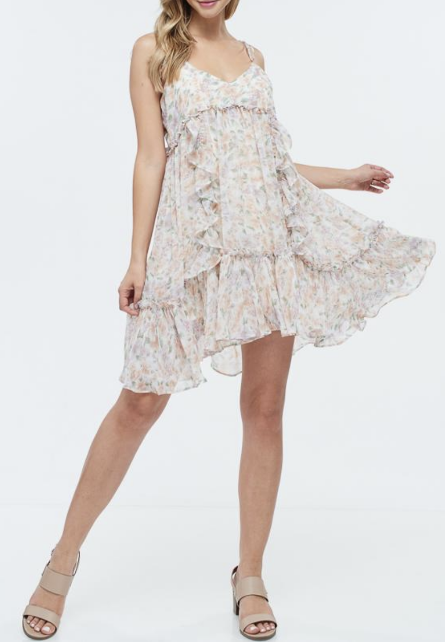 Therapy with LA Lemonade for Days Dress