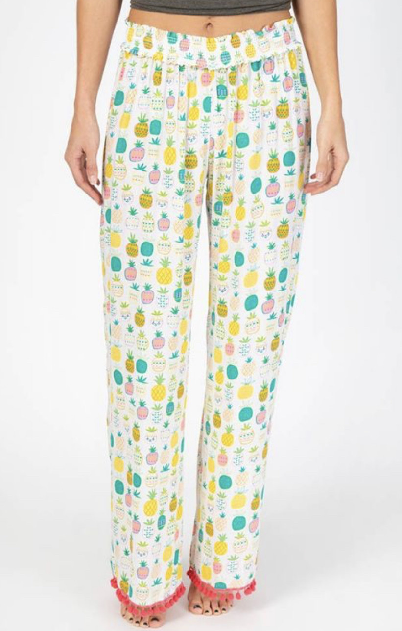 Natural Life Pineapple Lounge Pants