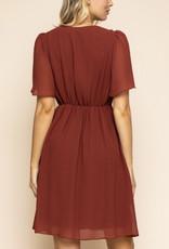 Gilli Quite the Charmer Midi Dress