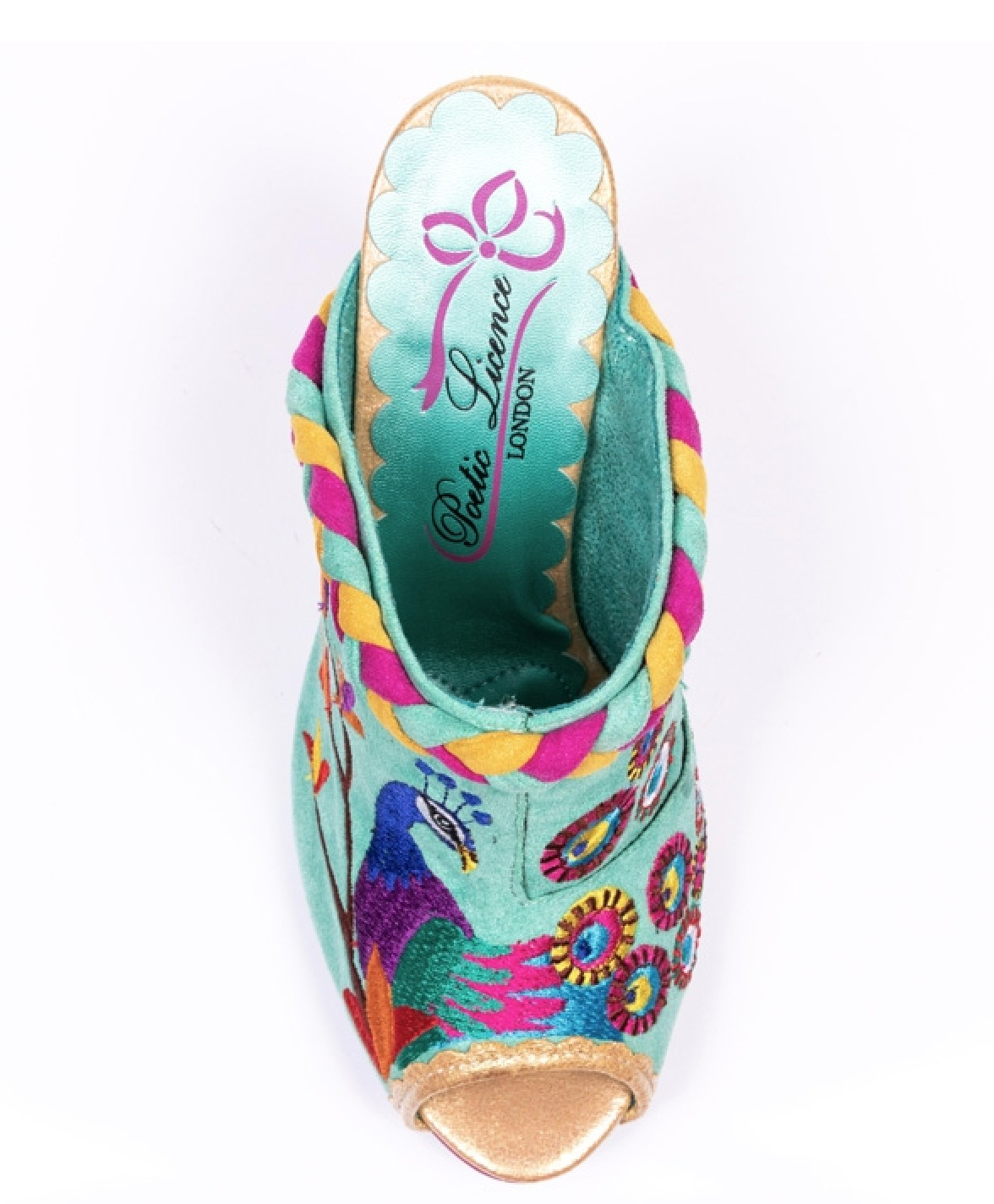 Irregular Choice Irregular Choice Eye of the Beholder Heels