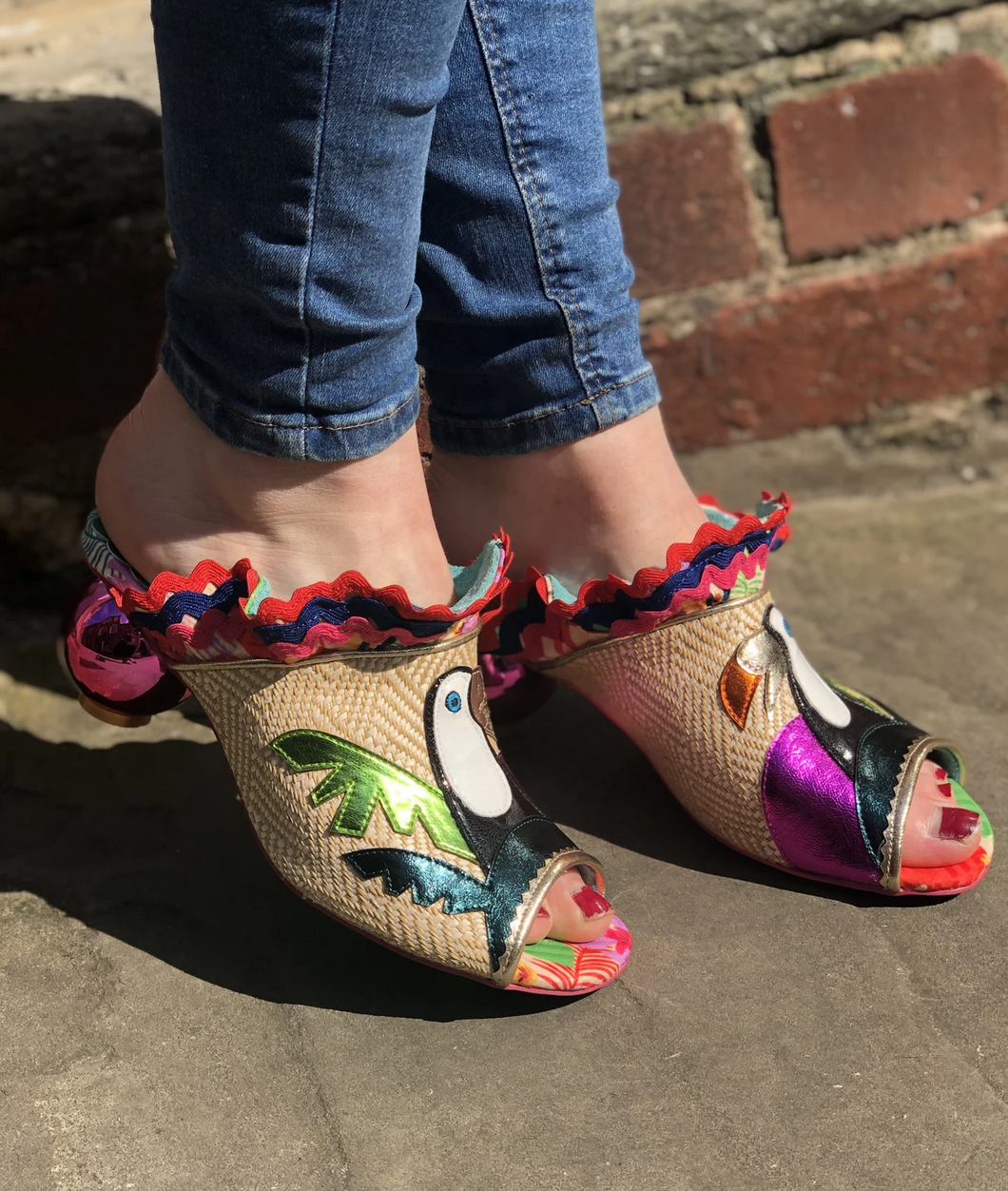 Irregular Choice Irregular Choice Toco Loco Sandals