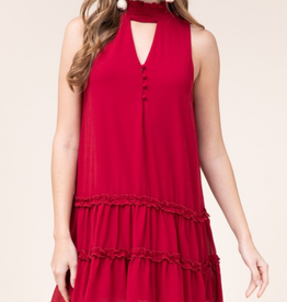 Entro Crimson Kiss Dress