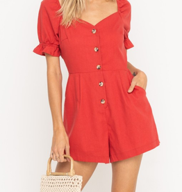 Lush Walk On Fire Romper