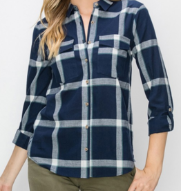 HyFve Square Root Flannel
