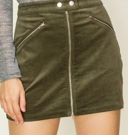 HyFve Tongue Tied Mini Skirt