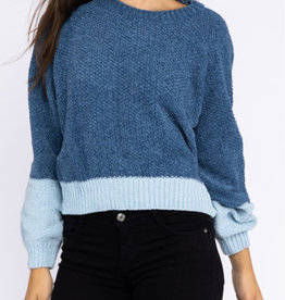 Le Lis Varsity Blues Sweater