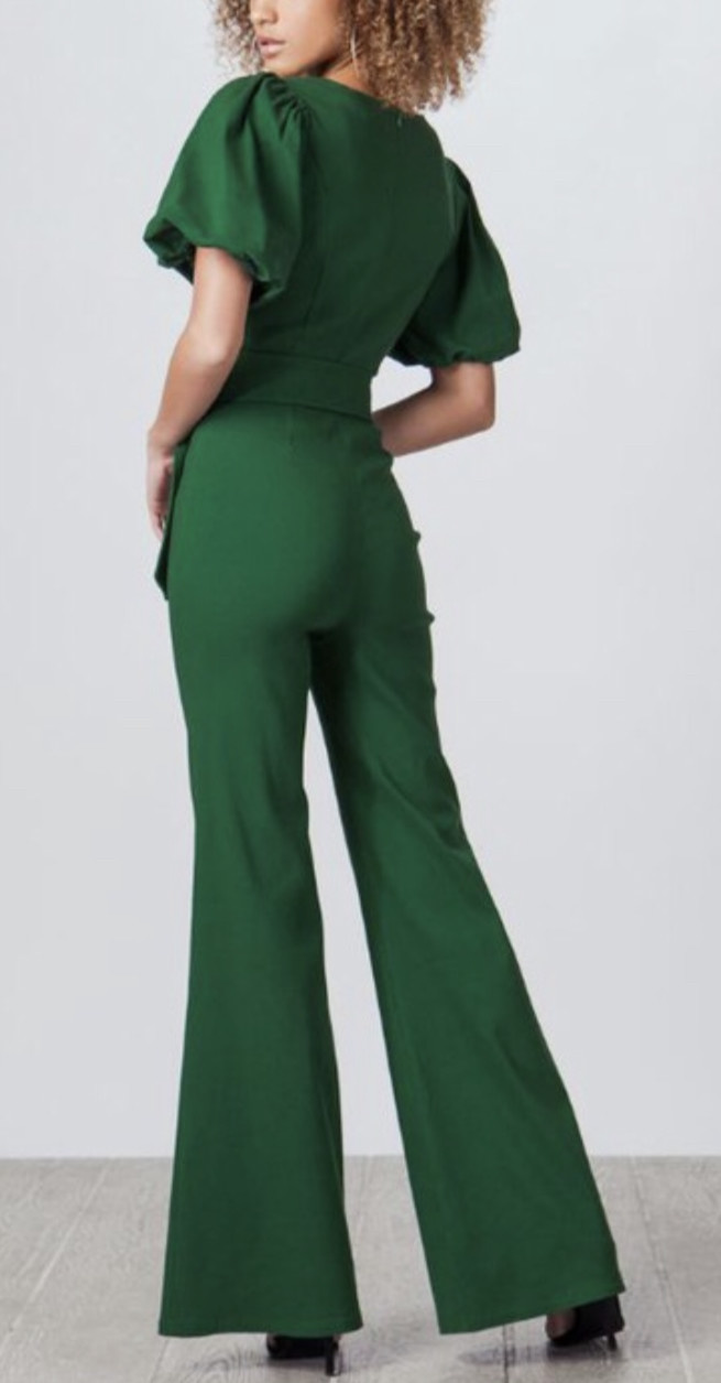 Flying Tomato Green With Envy Jumpsuit
