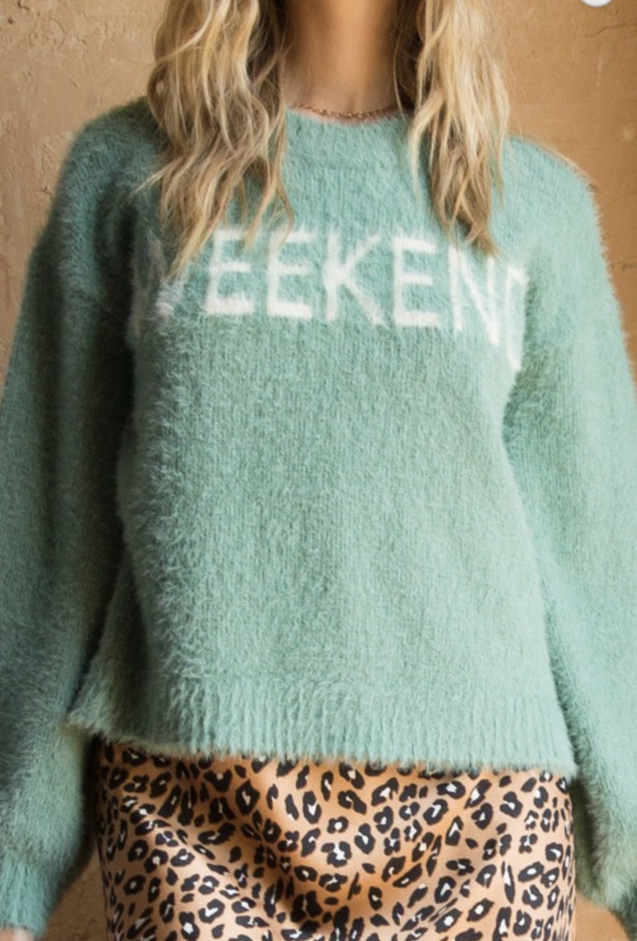 Hem & Thread Happy Weekend Sweater