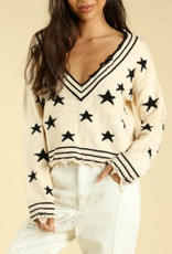 Honey Punch Wish Upon A Star Sweater