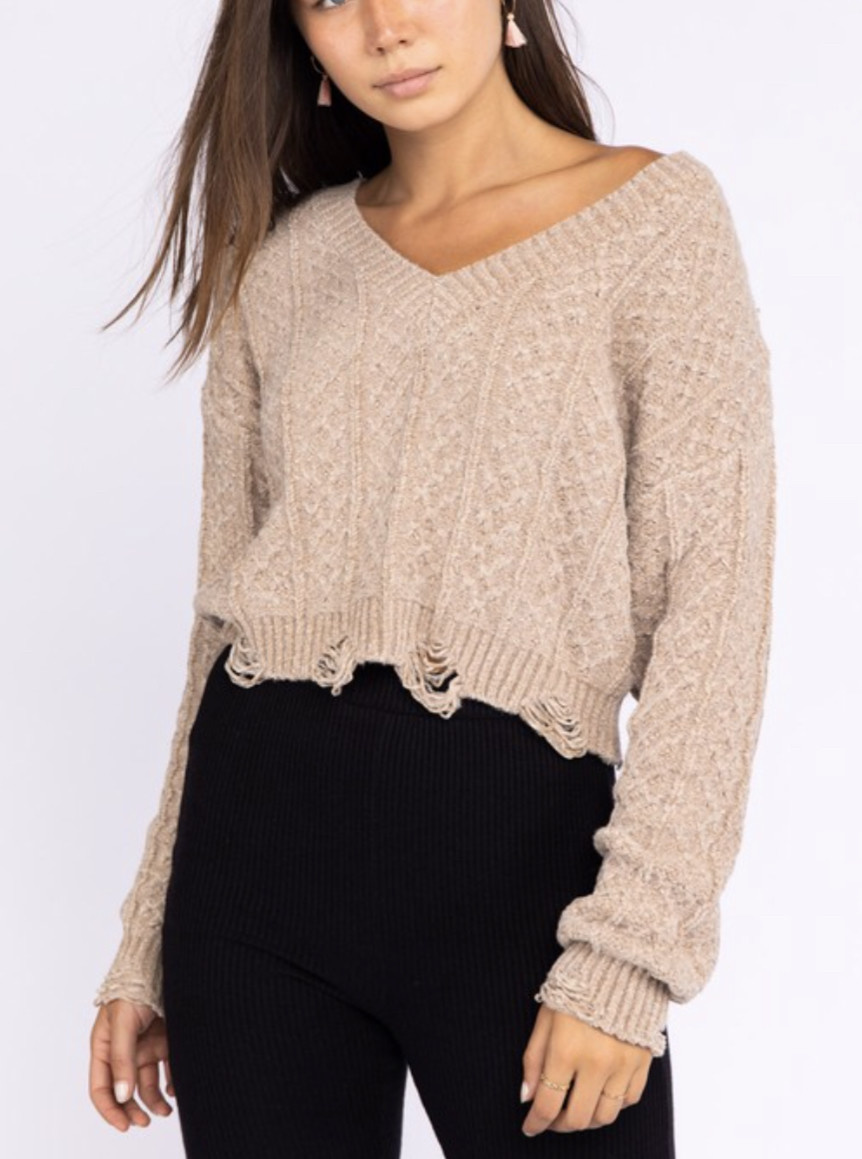 Le Lis Spice & Everything Nice Sweater