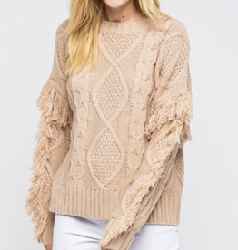 &Merci On The Fringes Sweater
