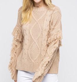 &Merci On The Fringes Sweater