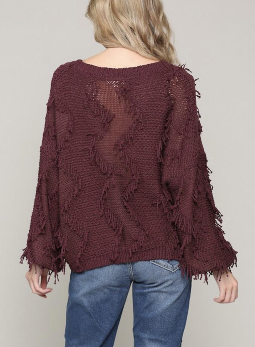 Illa Illa Feeling Fuzzy Sweater