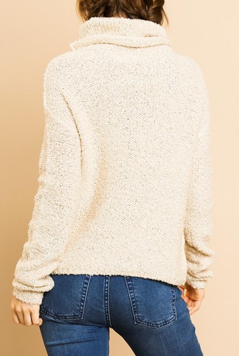 Umgee Falling Leaves Sweater
