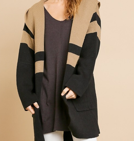 Umgee Coffee Date Cardigan