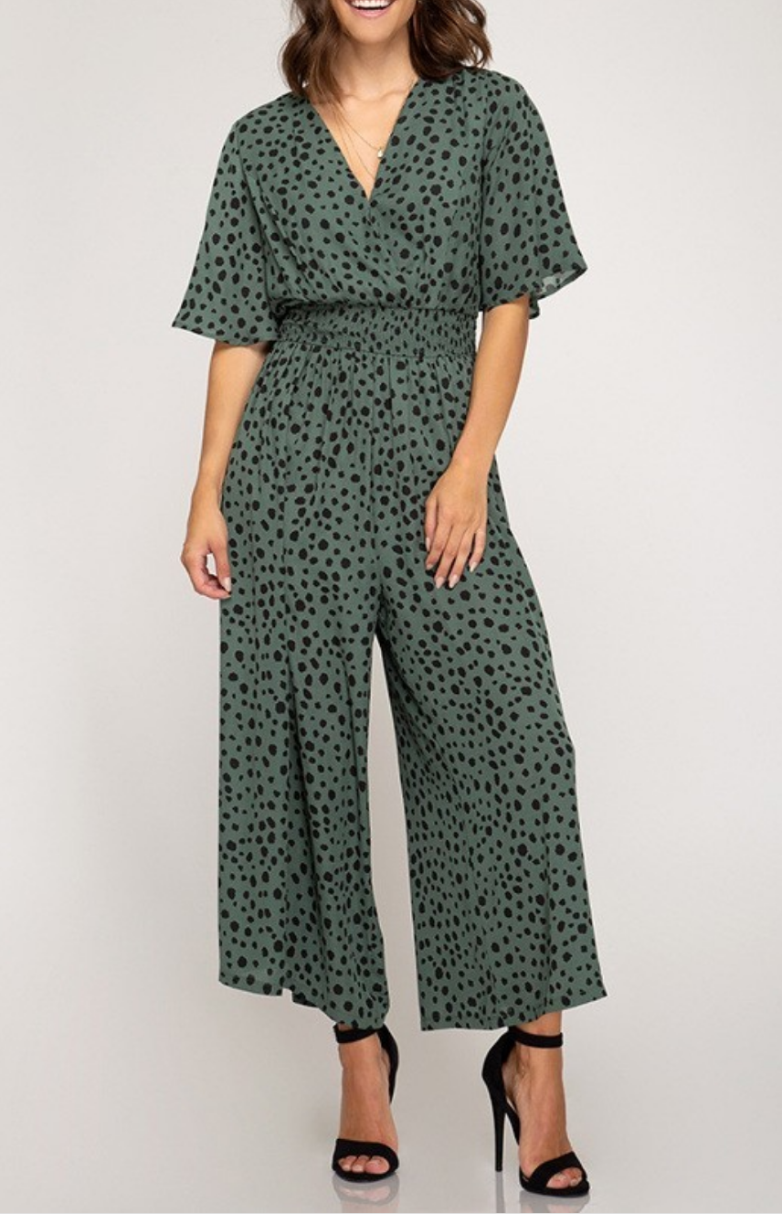 She & Sky Into The Wild Jumpsuit