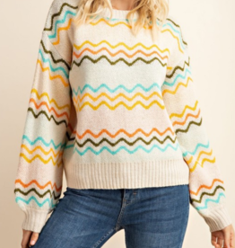 Gilli Outside The Lines Sweater