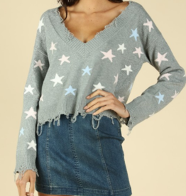 Honey Punch Reach For The Stars Sweater
