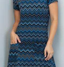 LA Soul Feeling Blue Dress