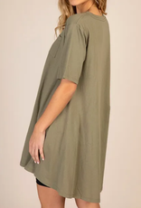 Natural Life Home For The Day T- Shirt Dress