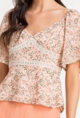 Lush Happy Flower Top