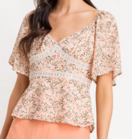 Lush Happy Flower Top